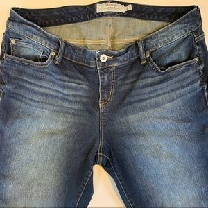Torrid jeans size 18S darker wash with light wash